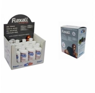 Flexall 120 gr (12) + REGALO: Caja de 80 Muestras y Expositor