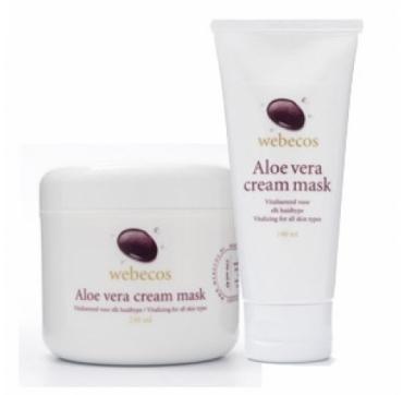 Aloe Vera Cream Mask Webecos